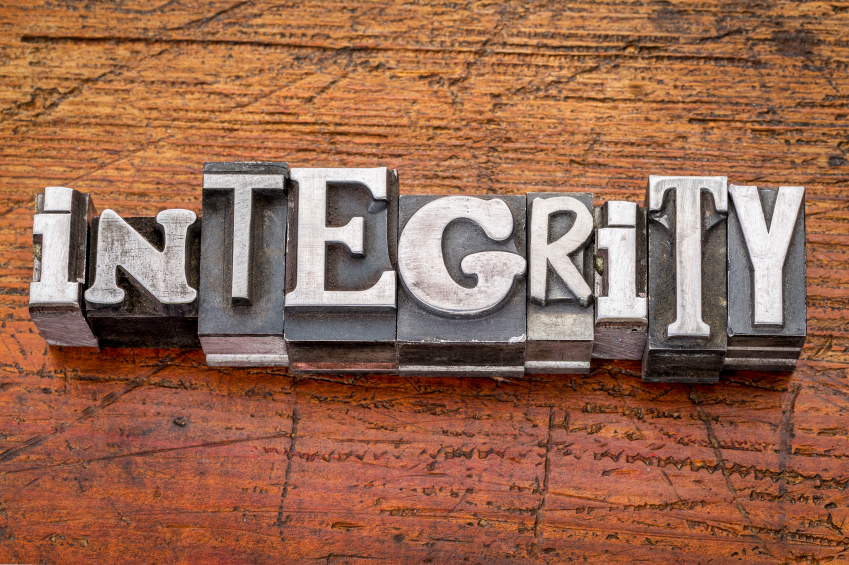 Integrity: What's Up With That? | Trusted Advisor Associates ...